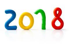 La disposición de las figuras por el Año Nuevo próximo 03 Imagen de archivo