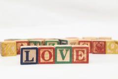 La disposition des lettres forme un mot, la version 101 Photographie stock