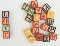 La disposition des lettres forme un mot, la version 10 Photo libre de droits