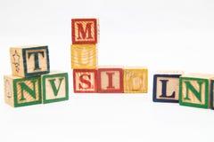 La disposition des lettres forme un mot, la version 29 photo stock