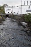 La distilleria del talisker immagine stock