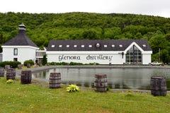 La distilleria di Glenora nel bretone del capo fotografia stock