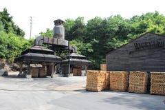 La distilleria di Jack Daniel fotografie stock libere da diritti