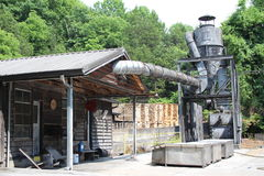 La distilleria di Jack Daniel fotografia stock