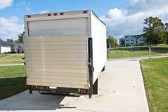 La distribution/camion ou Van mobile image stock