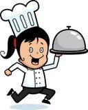 La distribution de chef illustration stock