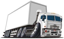 La distribution de dessin animé de vecteur/camion de cargaison Photos libres de droits