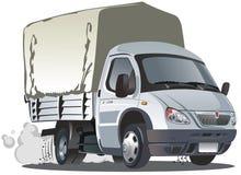 La distribution de dessin animé de vecteur/camion de cargaison Photo libre de droits