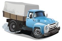 La distribution de dessin animé de vecteur/camion de cargaison Images libres de droits