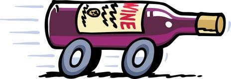 La distribution de vin Illustration Stock