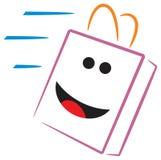 La distribution heureuse Images stock