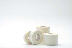 La diverse taille du bandage de sport attache du ruban adhésif à la collection Photo stock