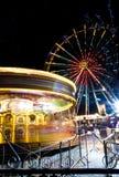 La diversión de la feria, Edimburgo Fotos de archivo
