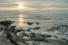 La diversidad honra el paisaje costero de California Imágenes de archivo libres de regalías