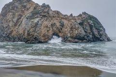 La diversidad honra el paisaje costero de California Imagenes de archivo