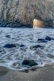 La diversidad honra el paisaje costero de California Fotos de archivo