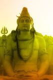 La divinità di Lord Shiva Immagine Stock