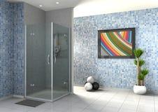 La doccia delle persone senza appuntamento Fotografia Stock
