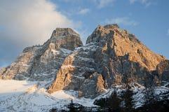 La dolomia in Italia del Nord Fotografie Stock Libere da Diritti