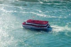 La domestica del cascate del Niagara U.S.A. della foschia Fotografie Stock