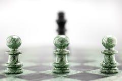 La dominación táctica. Foto de archivo