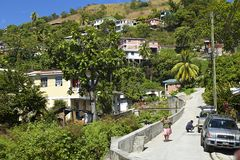 La Dominica, caraibica Immagini Stock