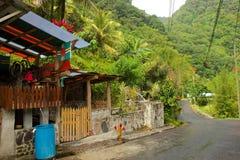 La Dominica rurale, caraibica Fotografie Stock Libere da Diritti