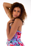 La donna africana sta seducendo Immagine Stock