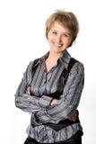 La donna di affari Immagine Stock Libera da Diritti