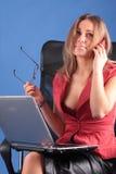 La donna di affari Immagini Stock