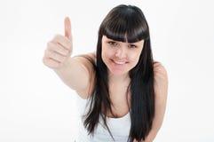La donna la gradice! Immagine Stock Libera da Diritti