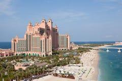 La Doubai, UAE. Atlantis da sopra Immagini Stock