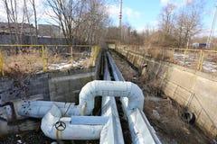 La double eau très chaude, systèmes de vapeur Photo libre de droits