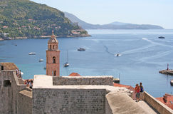 La Dubrovnik-Croatie photographie stock