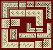 La Duma enmarca elementos del diseño Imagen de archivo libre de regalías