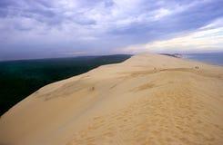 La Dune Du Pyla Stock Afbeelding