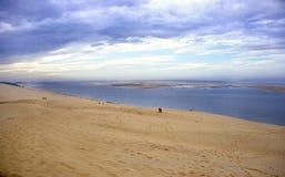 La Dune Du Pyla Stock Foto's