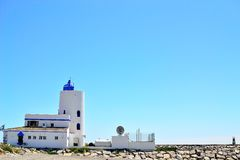la Duquesa lighthouse, Costa del Sol, Spain Royalty Free Stock Image