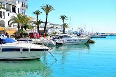 La Duquesa marina, Costa del Sol, Spain. Beautiful La Duquesa marina, Costa del Sol, Spain royalty free stock photo