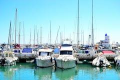 La Duquesa marina, Costa del Sol, Spain. Beautiful La Duquesa marina, Costa del Sol, Spain stock photo