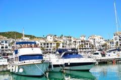 La Duquesa marina, Costa del Sol, Spain. Beautiful La Duquesa marina, Costa del Sol, Spain stock images