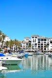 La Duquesa marina, Costa del Sol, Spain. Beautiful La Duquesa marina, Costa del Sol, Spain royalty free stock image