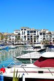 la Duquesa marina, Costa del Sol, Spain Stock Image
