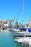 La Duquesa marina, Costa del Sol, Spain. Beautiful La Duquesa marina, Costa del Sol, Spain stock image