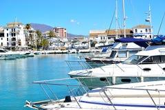 La Duquesa marina, Costa del Sol, Spain. Beautiful La Duquesa marina, Costa del Sol, Spain royalty free stock images