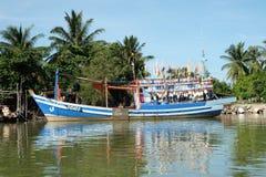 La durée du pêcheur Photographie stock libre de droits