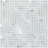 La durée est labyrinthe Illustration Stock