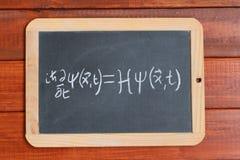 La ecuación de onda de Schrodinger foto de archivo