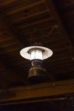 La ejecución ligera de la electricidad de la lámpara adorna el diseño interior casero Foto de archivo libre de regalías