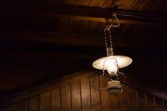La ejecución ligera de la electricidad de la lámpara adorna el diseño interior casero Fotografía de archivo libre de regalías